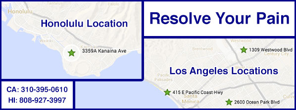 Resolve Your Pain Location